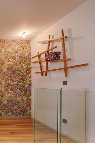 Étagères décoratives en bois