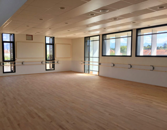 Salle de danse Maison des associations MDA François Mitterand