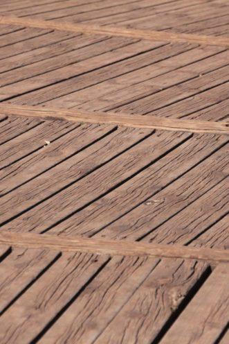 Différentes pose de terrasse en bois par Vallon Faure