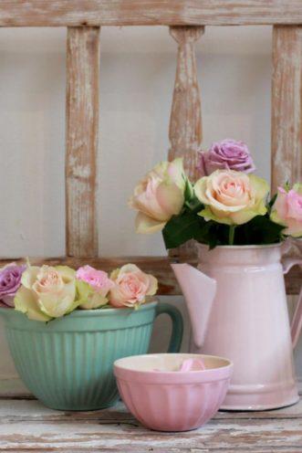 Les couleurs pastel pour un effet vintage par Vallon Faure