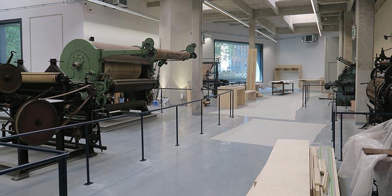 Reconversion de l'usine proplan en musée de l'industrie textile avec la participation de vallon Faure