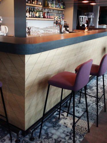 Agencement des restaurants avec le bois