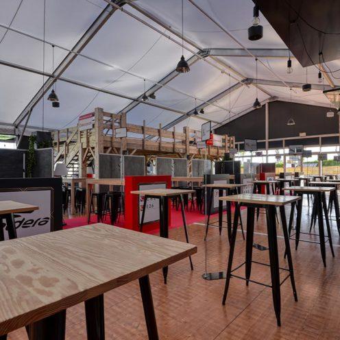 Espace VIP VRDR agencé par Vallon Faure et Global Concept