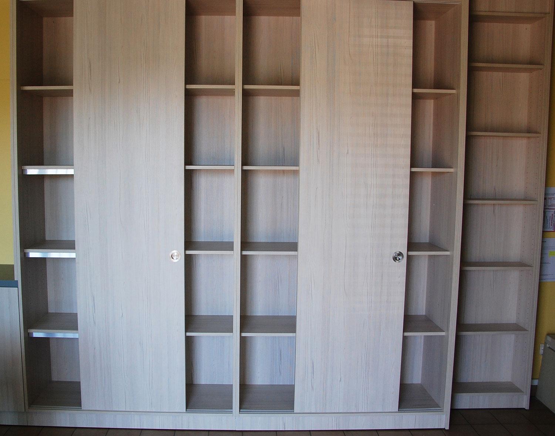 Mobilier bois sur mesure bibliothèque