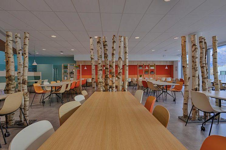 Image à la une, l'agencement bois dans les lieux professionnels par Vallon Faure