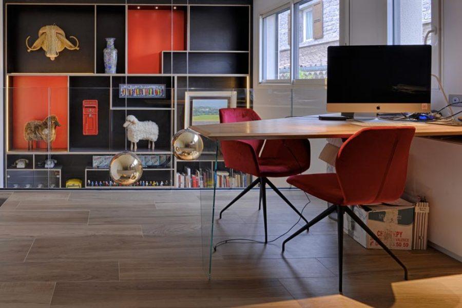 Les bureaux sur-mesure en bois