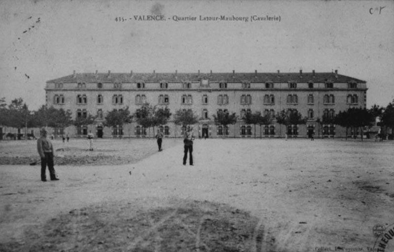 © Ville de Valence , photo archive de Latour Maubourg à Valence