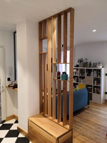 Les claustras, tendance bois 2021 par Vallon Faure