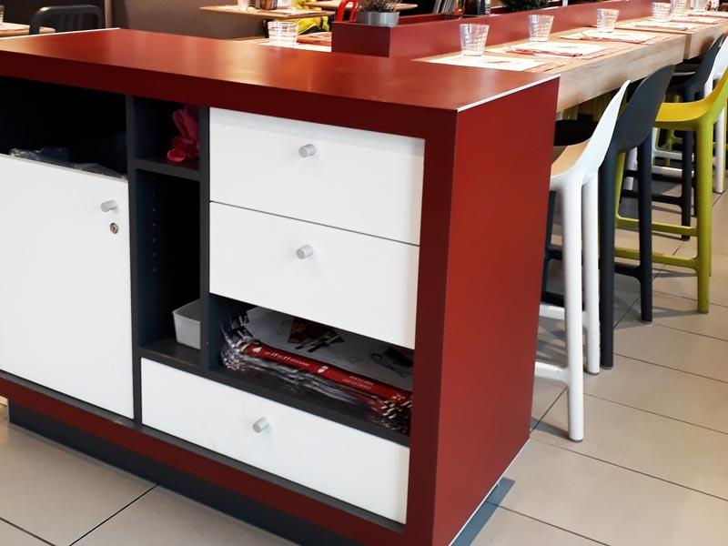 Finition peinture pour du mobilier bois par Vallon Faure