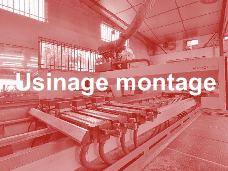 Usinage montage