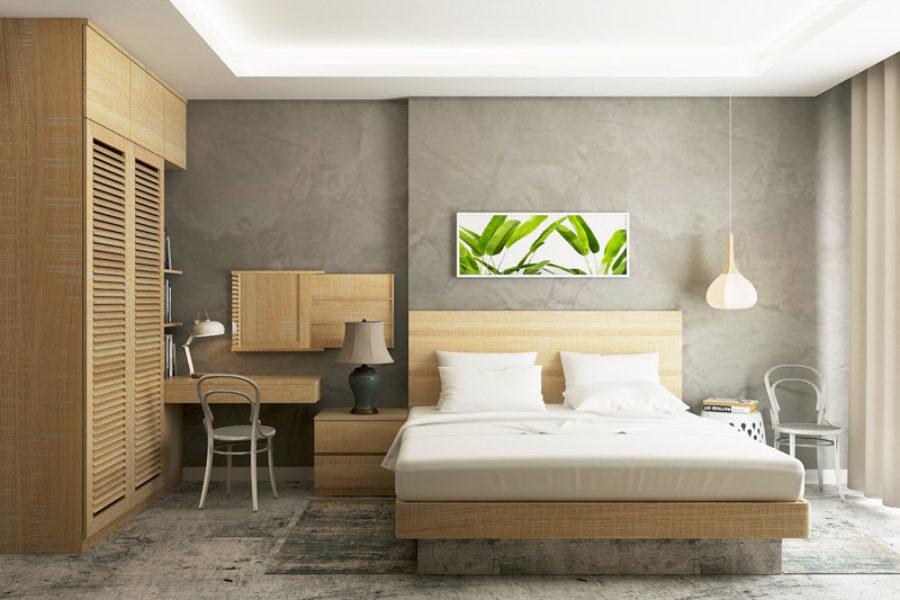 Comment intégrer le bois dans une chambre ?