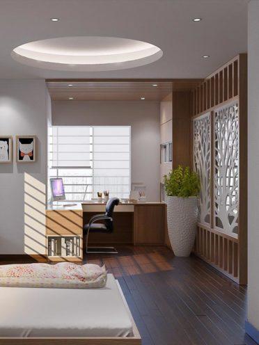 Intégrer une coiffeuse ou un bureau en bois dans une chambre