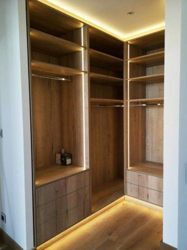Choisir son essence de bois pour son projet dressing par Vallon Faure
