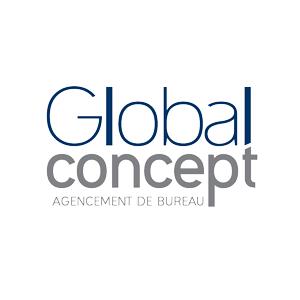 Logo Global Concept, spécialiste en aménagement et fourniture de mobilier professionnel