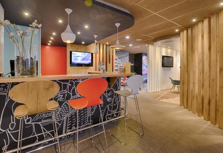 L'agencement intérieur pour les hôtels et restaurants par Vallon Faure