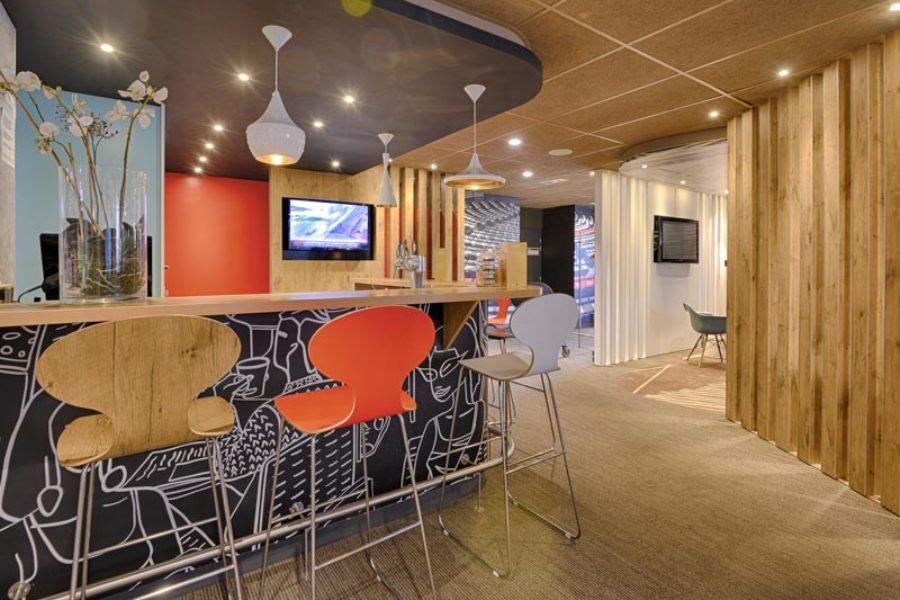 L'agencement intérieur pour les hôtels et restaurants
