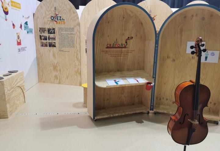Exposition à la Foire de Savoie sur mesure en bois